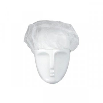 Pack 1000 Gorros TNT Blancos Desechables