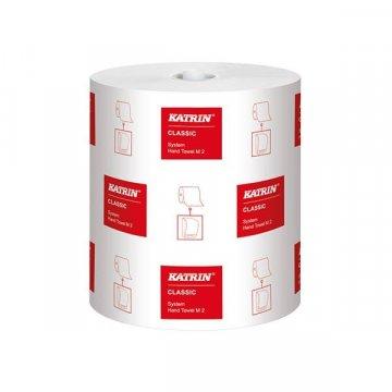 Pack 6 bobinas secamanos celulosa Katrin doble capa 160 m