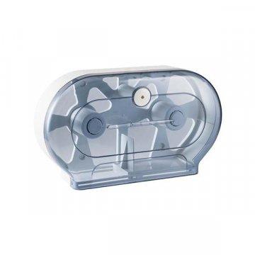 Dispensador Papel Higiénico Doble Plástico. Medidas 29x13x51CM.
