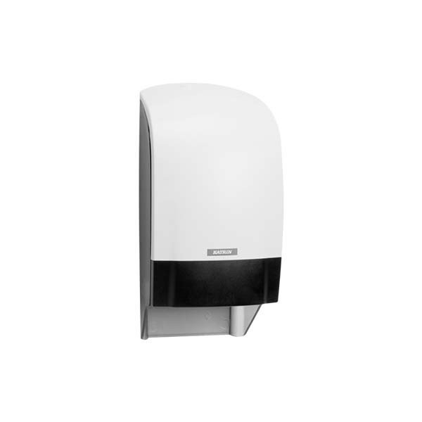 Dispensador Papel Higiénico Katrin Inclusive (sin recogedor). Color Blanco.