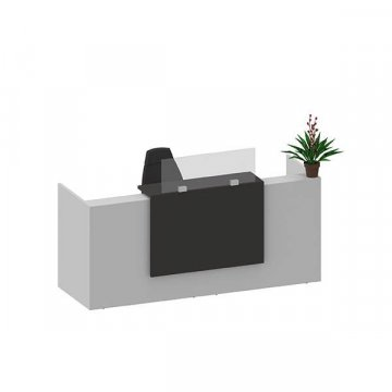 Mampara separador mostrador 160x90cm/100cm
