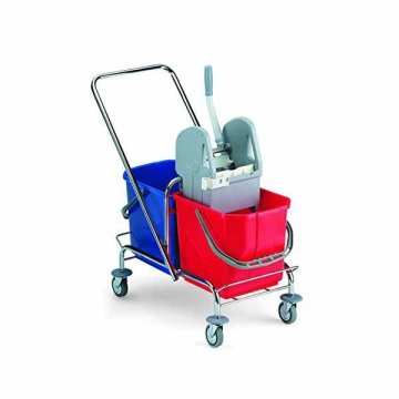 Carro Fregar Doble Cubo 25L+25L