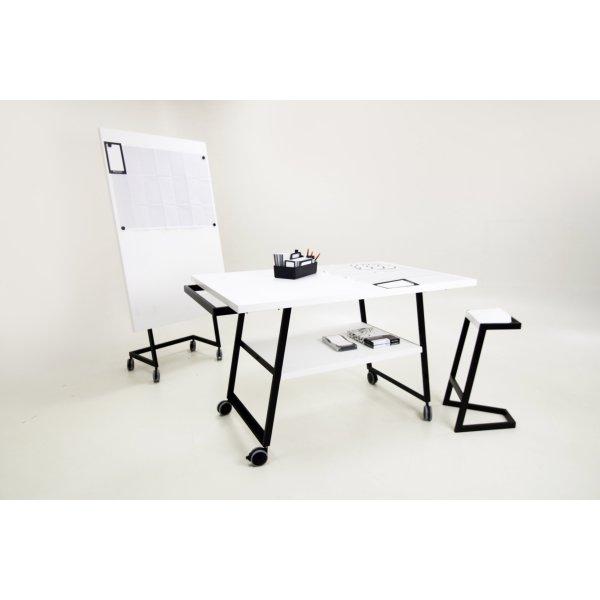 Mesa Manual Thinking con Ruedas 120x100x55cm