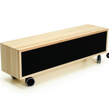 Mueble bajo Asiento con Ruedas 140x35x33cm