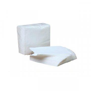 Servilletas de papel desechables color blanco 30x30cm
